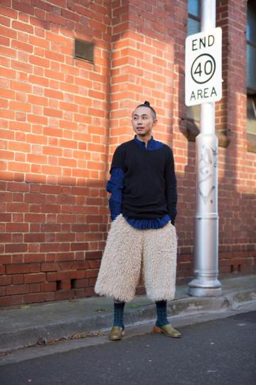 "VIC: Vincent Li, Designer, Richmond. ""I love the surprise by creating contrast."""