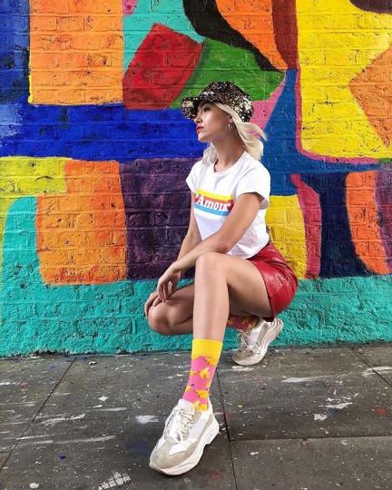 "Happy Socks Photo: <a href=""https://www.instagram.com/indiaalexandrial/""target=""_blank"">@indiaalexandrial</a> #sp"
