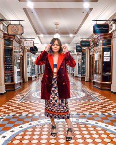 Fashion Blogger Aurora Banez