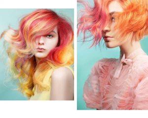 Hair stylien by Zena Najjar