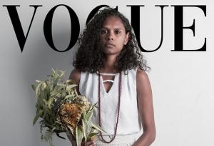 Aboriginal Model Cassie Puruntatameri's Vogue Challenge