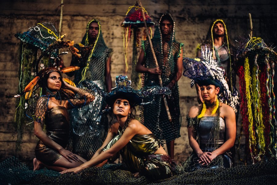 Indigenous Fashion Designers in the Water is Sacred showcase