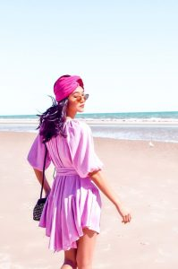 Naducaa head wear in pink