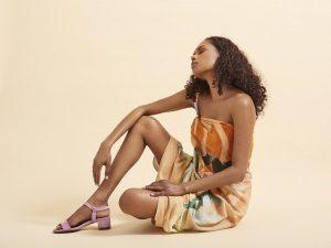aboriginal Model Cassie Puruntatameri