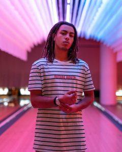 Indigenous male model with Jira Modelling Agency, Lluka