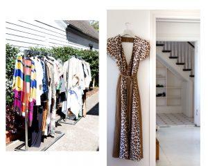fashion on show at Heidi Middleton's pop up