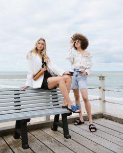 Shorts and Australian footwear label NYOF