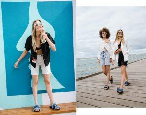 Models wearing Australian Footwear for Cocktail Revolution Editorial