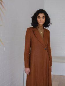Sustainable fashion shoot