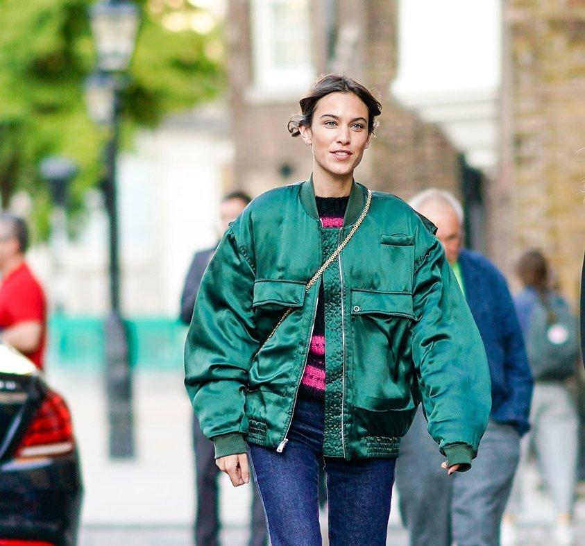 Alexa Chung - ambassador for vintage fashion