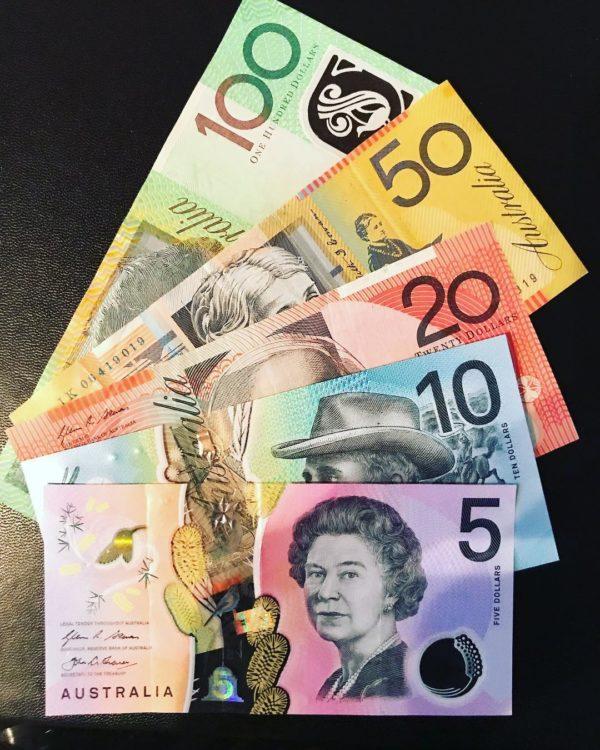 Australian dollars, not a good Mother's Day Gift Idea
