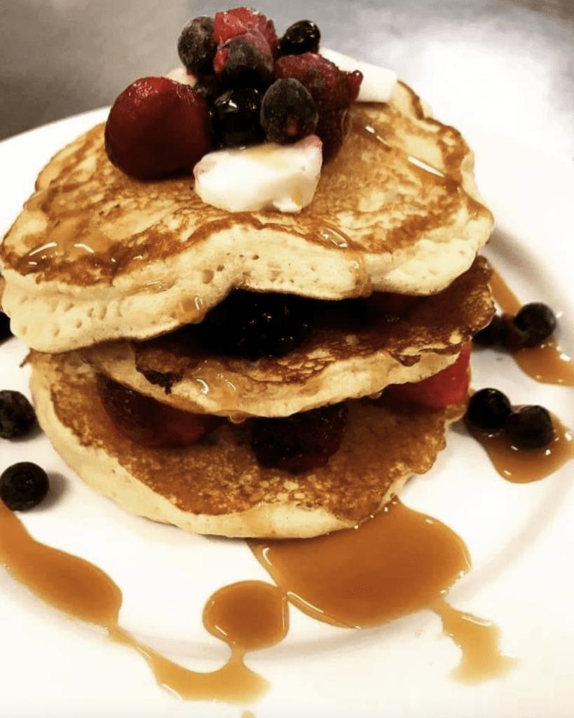 Vegan Pancake by Veggie Mamma Vegan Cafe