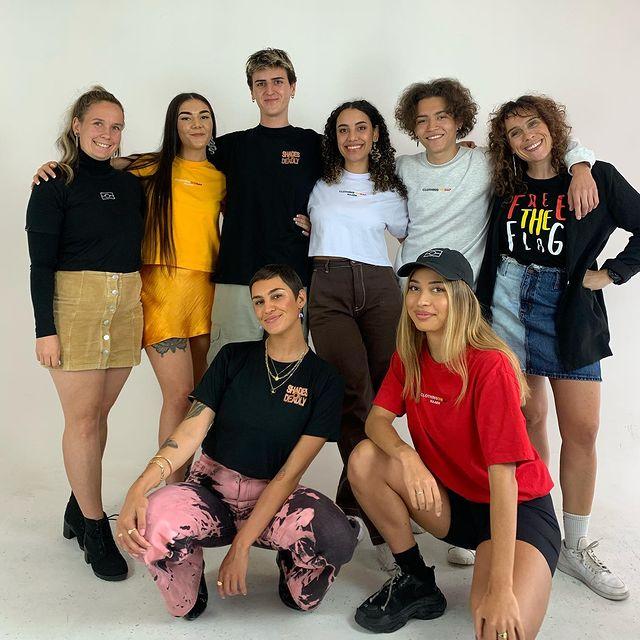 Clothing the Gap team