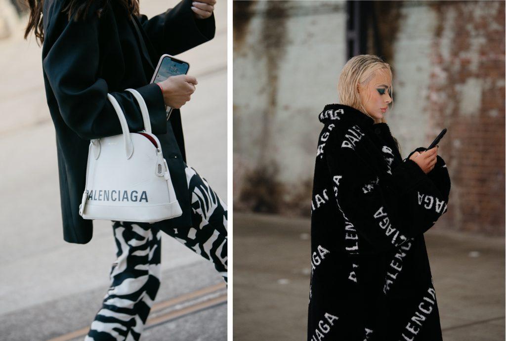 black and white style at Australian Fashion Week