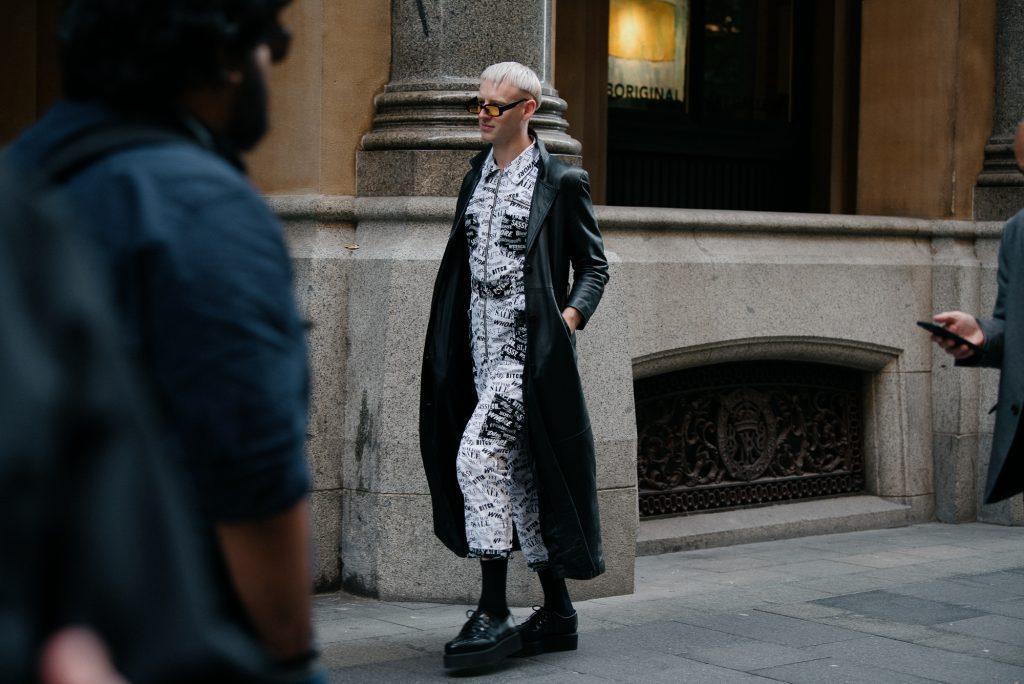 Mens street style in Sydney