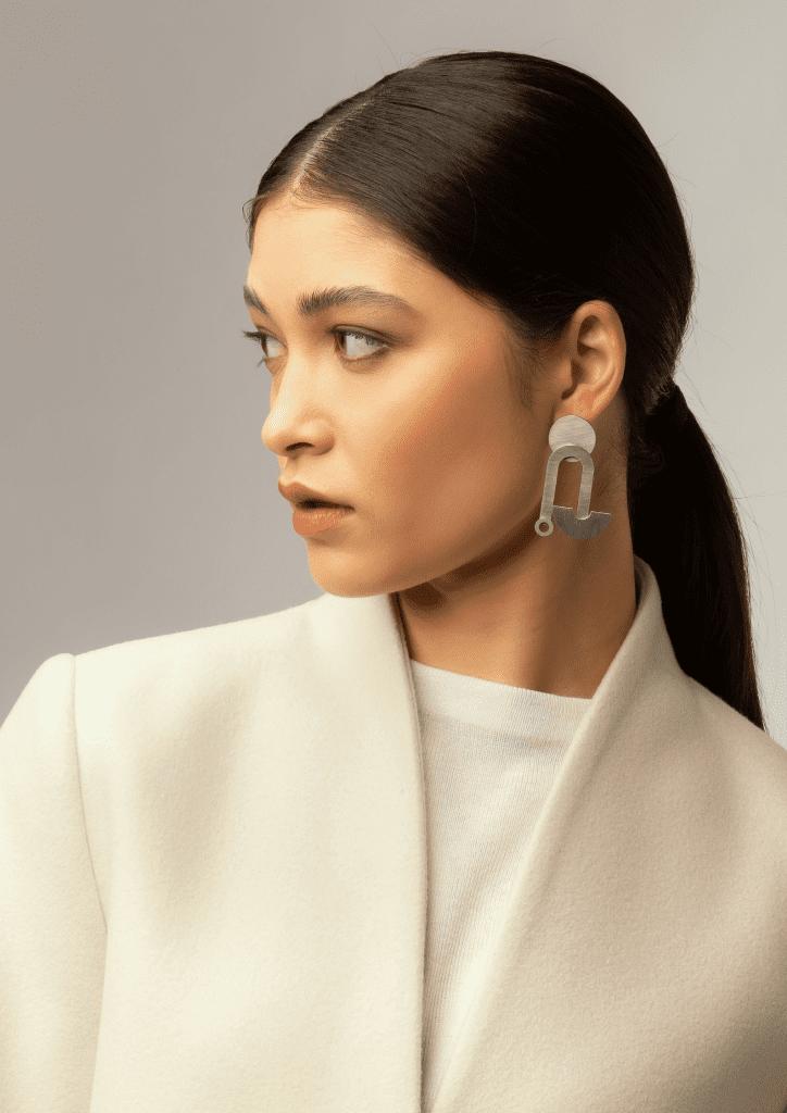 Days of August Wearable Art statement earrings