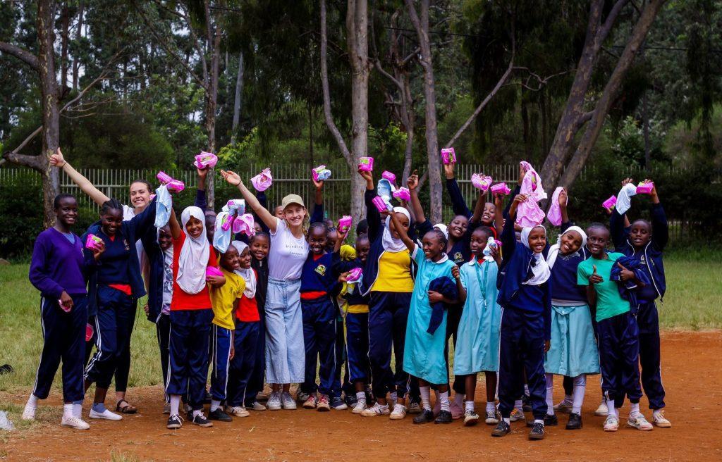 Eloise Hall & Isobel Marshall in Kenya