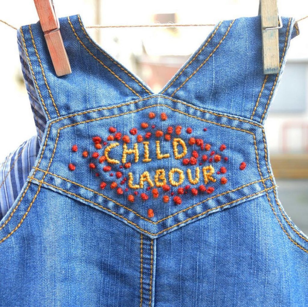 Fast Fashion often uses child labour