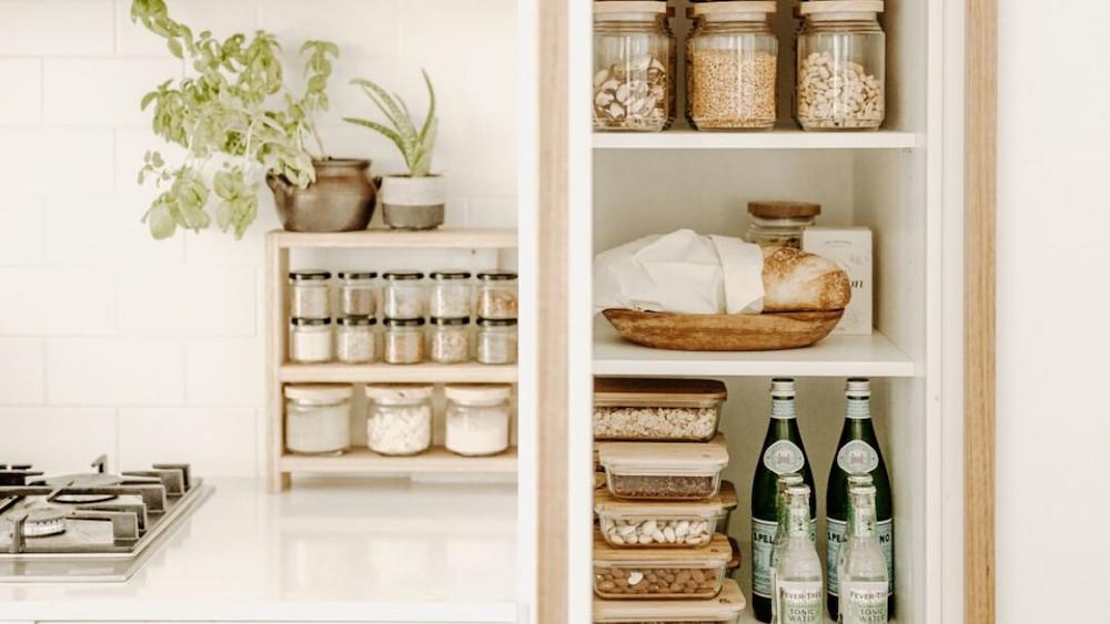 Zero single use plastics in the kitchen