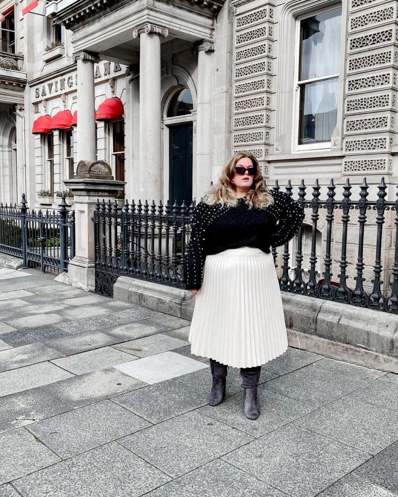Plus Size Fashion Blogger Katie Parrot