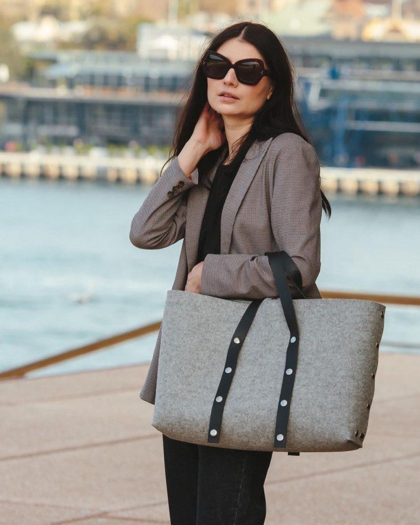 branded bag label Katya Komarova