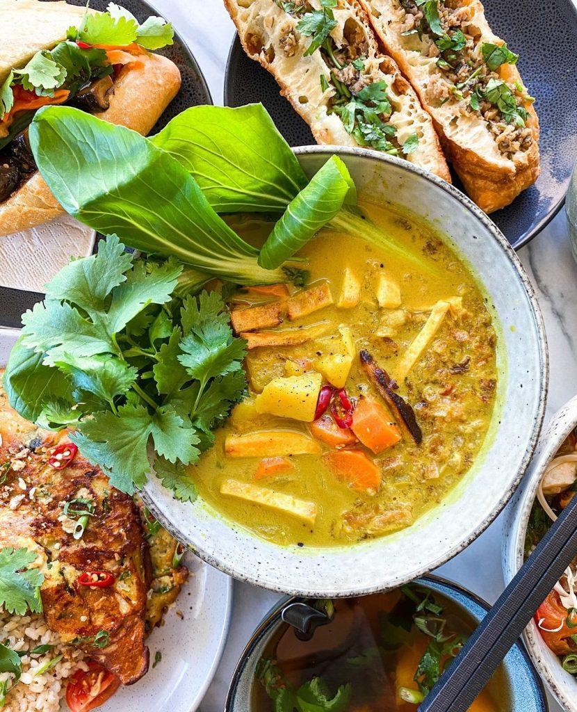 Food bowl by Metta Sol Vegan Cafe