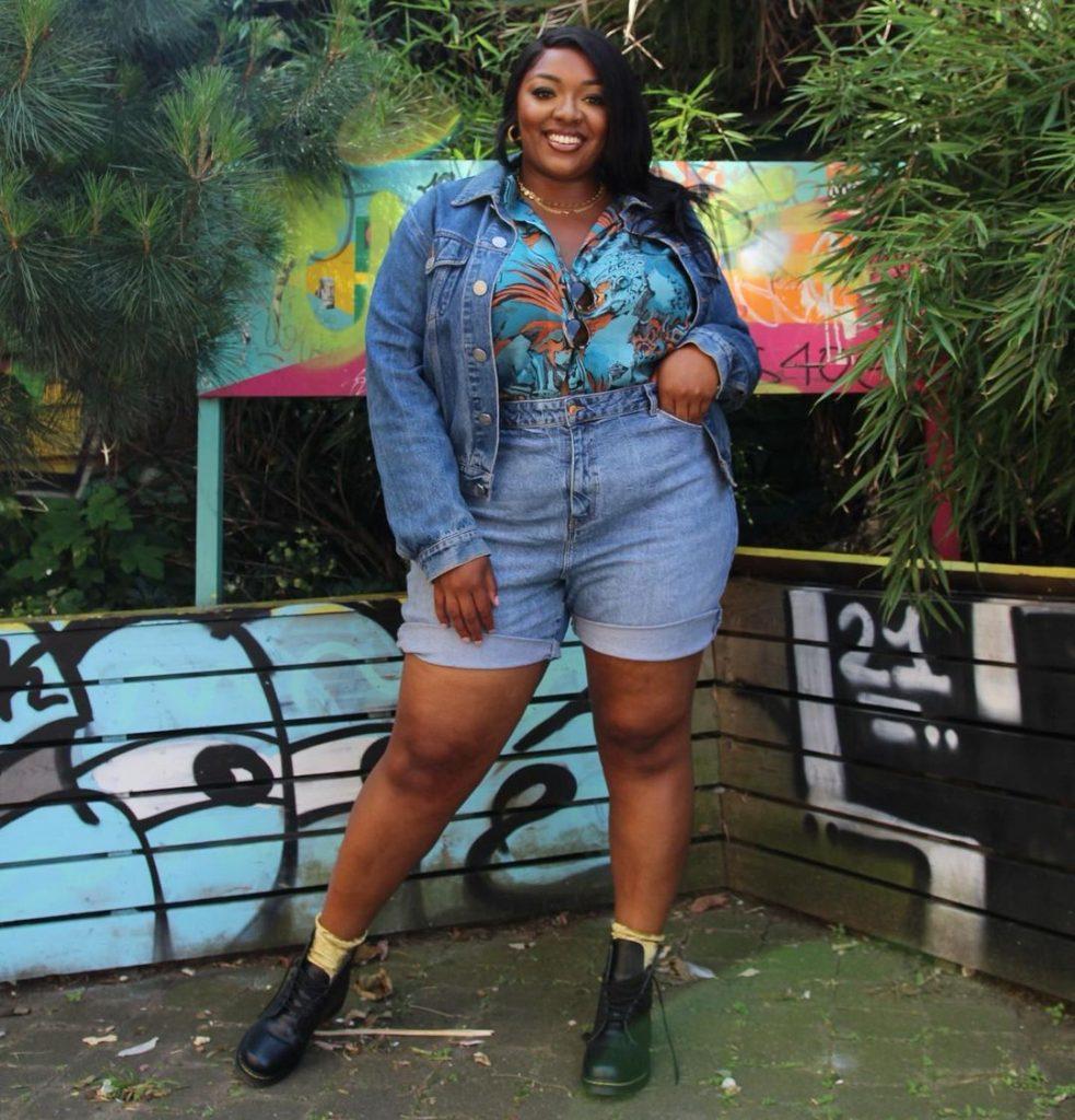 Plus Size Fashion Blogger Nyome Nicholas